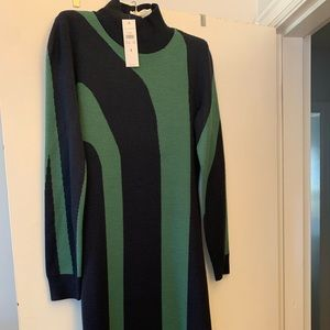NWT Ann Taylor Midi Sweater Dress